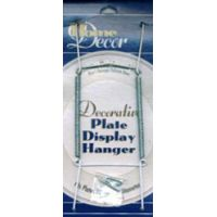 "Decorative Plate Display Hanger Expandable 10"" To 14"" NOTM223734"