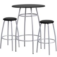 Flash Furniture Bar Height Table and Stool Set FHFYBYJ922GG