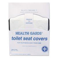 HOSPECO Health Gards Quarter-Fold Toilet Seat Covers, White, Paper, 200/PK, 25 PK/CT HOSHGQTR5M
