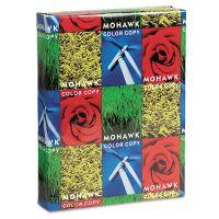 Mohawk Copy Paper, 98 Brightness, 28 lb, 8 1/2 x 11, Bright White, 500 Sheets/Ream MOW12203
