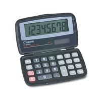 Canon LS555H Handheld Foldable Pocket Calculator, 8-Digit LCD CNM4009A006AA