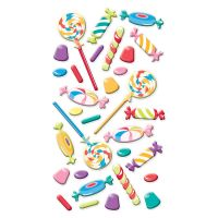 Sticko Puffy Dimensional Stickers NOTM395094
