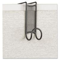 Safco Onyx Panel/Door Coat Hook, Steel SAF4229BL
