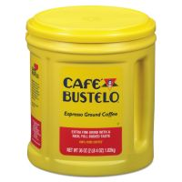 Café Bustelo Ground Coffee, Espresso, Dark Roast, 36 oz, 1 Each FOL00055