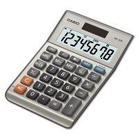 Casio MS-80B Tax and Currency Calculator, 8-Digit LCD CSOMS80B