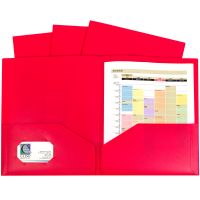 2-Pocket Heavyweight Poly Portfolio Folder 10/Pkg NOTM498205