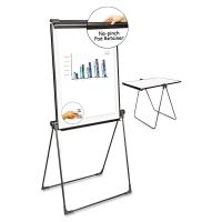 Universal Foldable Double-Sided Dry Erase Easel, Two Configurations, White Board: 29 x 41 UNV43030