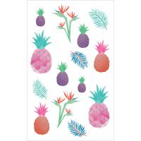 "Mrs. Grossman's Watercolor Stickers 4""X6.5"" NOTM224354"
