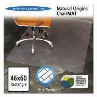 ES Robbins Natural Origins Chair Mat For Hard Floors, 46 x 60, Clear ESR143022