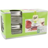Ball Wide Mouth Canning Jars 4/Pkg NOTM401017