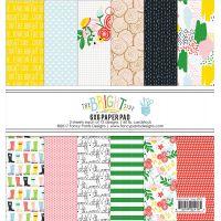 """Fancy Pants Designs Single-Sided Paper Pad 6""""X6"""" 24/Pkg NOTM392098"""