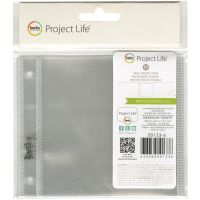 """Project Life Ring Photo Sleeves 4""""X4"""" 10/Pkg NOTM435740"""