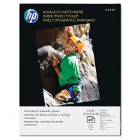 HP Advanced Photo Paper, 56 lbs., Glossy, 5 x 7, 60 Sheets/Pack HEWQ8690A