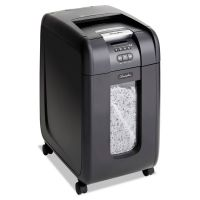 Swingline Stack-and-Shred 300X Auto Feed Super Cross-Cut Shredder, 300 Sheet Capacity SWI1757576