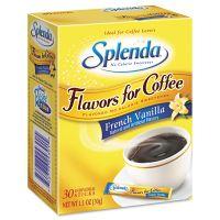 Splenda Flavor Blends for Coffee, French Vanilla, Stick Packets, 30/Pack JOJ243010
