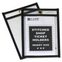 C-Line Stitched Vinyl Shop Ticket Holders CLI46046