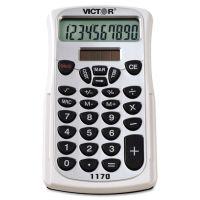 Victor 1170 Handheld Business Calculator w/Slide Case, 10-Digit LCD VCT1170