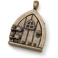 Fairy Door Metal Charm 1/Pkg NOTM493773