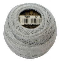 DMC Pearl Cotton Crochet Thread Ball - Very Light Pearl Grey (762) NOTM014482