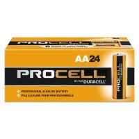 Duracell Procell Alkaline Batteries, AA, 144/Carton DURPC1500CT