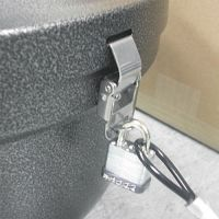 Ex-Cell Smokers' Oasis Lock Kit, 48in Plastic-Coated Steel Cable w/Lock/Key EXCSRSLCKKIT
