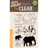 """Hero Arts Clear Stamps 4""""X6"""" NOTM388519"""