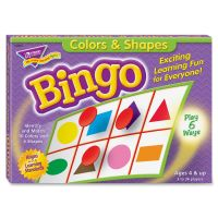Colors & Shapes Bingo Game TEPT6061