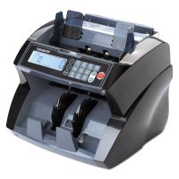 SteelMaster 4820 Bill Counter with Counterfeit Detection, 1900 Bills/Min, Black MMF2004850C8