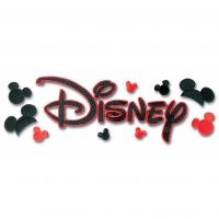 Disney Title Dimensional Stickers NOTM277643