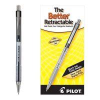 Pilot Better Ball Point Pen, Black Ink, .7mm, Dozen PIL30000
