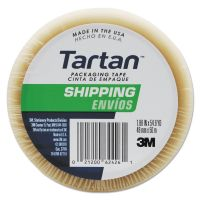 "Tartan 3710 Packaging Tape, 3"" Core, 1.88"" x 54.6yds, 3"" Core, Clear MMM37106"