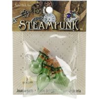 Steampunk Glass Accents 3/Pkg NOTM335728