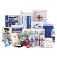 First Aid Only ANSI 2015 Compliant First Aid Kit Refill, Class A, 25 People, 89 Pieces FAO90583