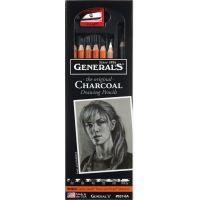 Charcoal Pencil Set 6/Pkg NOTM303669