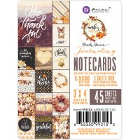 "Amber Moon Double-Sided Journaling Cards 3""X4"" 45/Pkg NOTM091753"