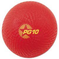 """Champion Sports Playground Ball, 10"""" Diameter, Red CSIPG10"""