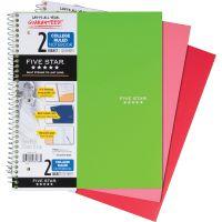 Mead Wirebound 2-Subject Notebook MEA06188
