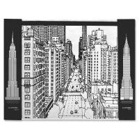 Aurora Illustrator Jr DeskPad Cityscape AUA16124