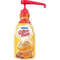 Coffee-mate Liquid Coffee Creamer, Hazelnut, 1500mL Pump Bottle NES31831
