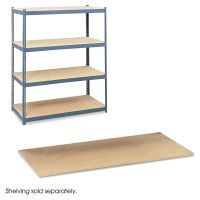 Safco Particleboard Shelves for Steel Pack Archival Shelving, 69w x 33d x84w, Box of 4 SAF5261