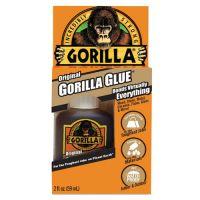 Gorilla Glue Original Multi-Purpose Waterproof Glue, 2 oz Bottle, Light Brown GOR5000206