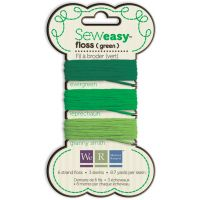 Sew Easy Solid 6-Strand Floss 8.7yd 3/Pkg NOTM458088
