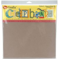 "Medium Weight Chipboard Sheets 12""X12"" 6/Pkg NOTM303183"