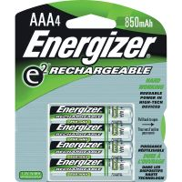 Energizer e2 Rechargeable 850mAh AAA Batteries EVENH12BP4CT