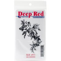 """Deep Red Cling Stamp 2""""X3"""" NOTM056610"""