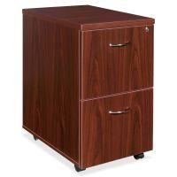 Lorell Essentials 2-Drawer Mobile File Cabinet LLR69397