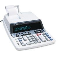 Sharp QS-2760H Two-Color Ribbon Printing Calculator, Black/Red Print, 4.8 Lines/Sec SHRQS2760H