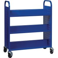 Lorell Double-sided Book Cart LLR99932
