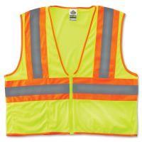 GloWear Class 2 Two-tone Lime Vest EGO21295