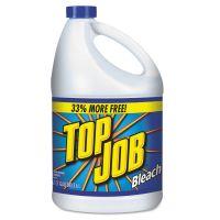 Top Job Regular Bleach, 1 gal Bottle, 6/Carton KIK11007735044